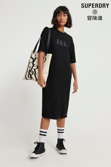 Superdry Edit Midi T-Shirt Dress
