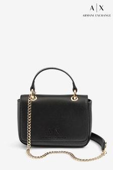 Armani Exchange Black Mini Shoulder Bag
