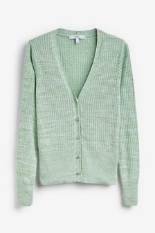 Ribbed Co-Ord Cardigan