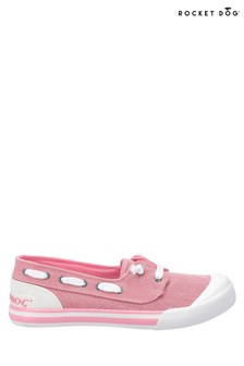Rocket Dog Pink Jazzin Jetty Salty Slip-On Shoes