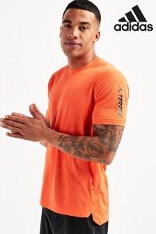 adidas Orange All Around T-Shirt