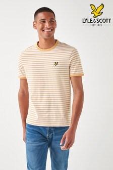 Lyle & Scott Plus Size Stripe T-Shirt