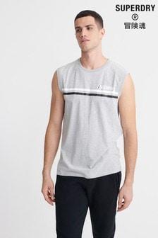 Superdry Core Logo Sport Stripe Vest