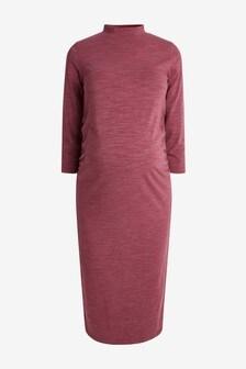 Платье с закрытой горловиной (для беременных)