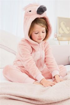 Flamingo Fleece All-in-One (3-16yrs)