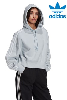 adidas Originals Crop Pullover Hoodie