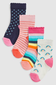 Socks Four Pack (Younger)