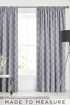 Kendrick Fog Grey Made To Measure Curtains