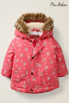 Boden Pink 3-In-1 Cosy Jacket