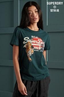 Superdry Vintage Logo Rising Sun T-Shirt