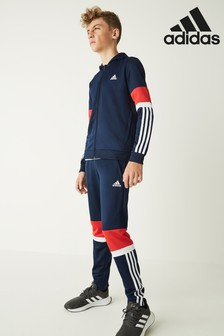 adidas Navy/Red Joggers