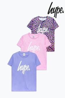 Hype. 3 Pack Leopard T-Shirt