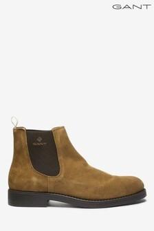 GANT Brown Oscar Chelsea Boots