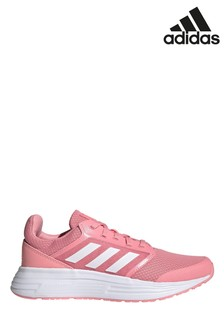 adidas Pink/White Galaxy 5 Trainers
