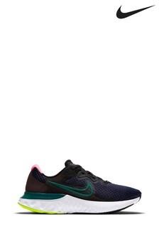 Nike Navy Renew Run 2 Trainers