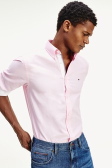 Tommy Hilfiger Pink Lightweight Oxford Shirt