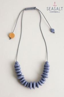 Seasalt Blue Clayworker Necklace