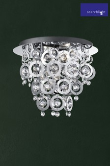Swing 3 Light Flush Ceiling Light by Searchlight