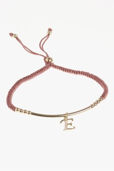 18 Carat Gold Plated Initial Bracelet