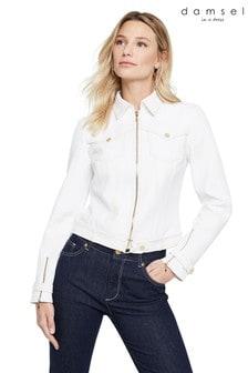 Damsel In A Dress White Florens Jacket