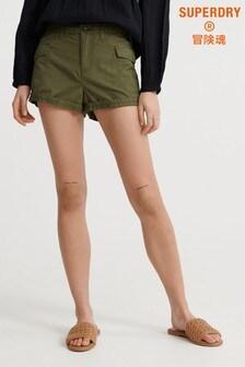 Superdry Olive Cargo Shorts