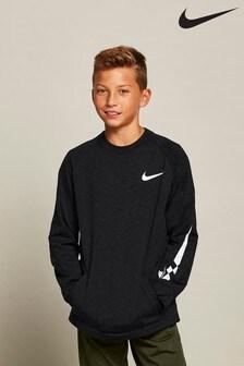 Nike Comfort Fleece Long Sleeve Top