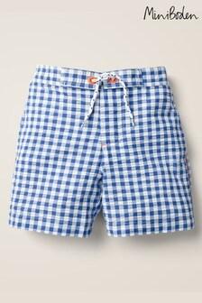 Mini Boden Blue Swim Shorts
