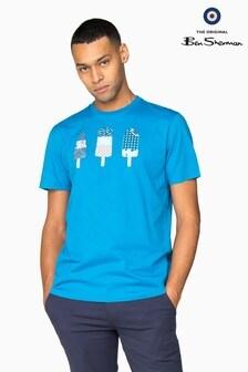 Ben Sherman Main Line Blue Lollies T-Shirt
