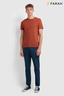 Farah Soft Handle T-Shirt With Embroidered Chest Placement Logo
