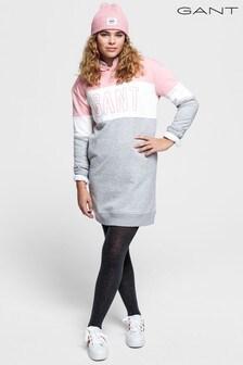 GANT Girls Pink Hoody Dress