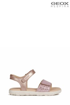 Geox Girl's Haiti Pink Sandals