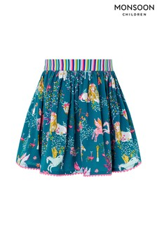 Monsoon Green Aries Skirt