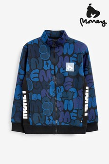 Money Block Ape Camo Track Top