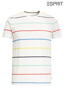 Esprit Natural Stripe T-Shirt