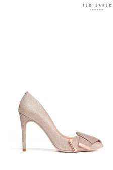 Ted Baker Nude Bow Court Shoes