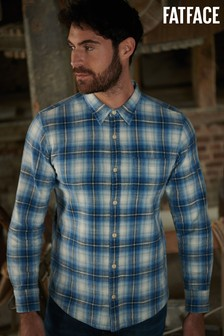 FatFace Blue Shawford Check Shirt