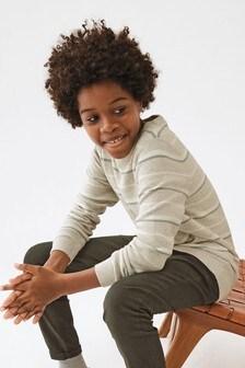 Sweter w paski (3-16 lat)