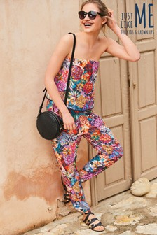 Pineapple Print Layer Jumpsuit