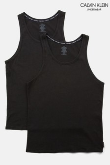 Calvin Klein Modern Cotton Tanks Two Pack
