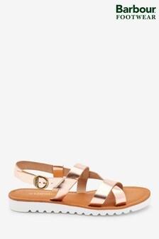Barbour® Rose Gold Sandside Sandals