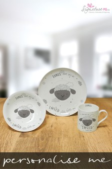 Personalised Ewe Are So Loved Breakfast Set by Signature PG