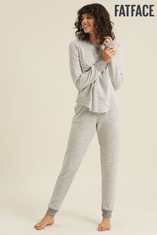 FatFace Natural Soft Stripe Joggers