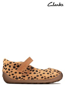 Clarks Animal Tiny Mist T Shoes