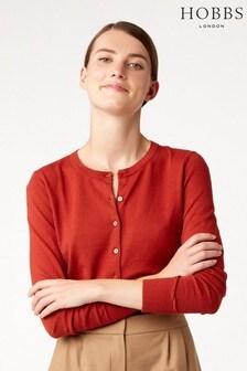 Hobbs Red Maddie Cardigan