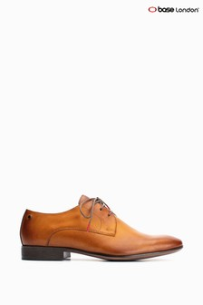 Base® London Tan Dansey Waxy Lace Up Shoes