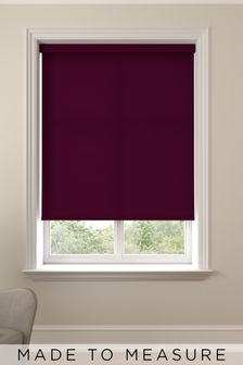 Asher Blackcurrant Purple Made To Measure Roller Blind