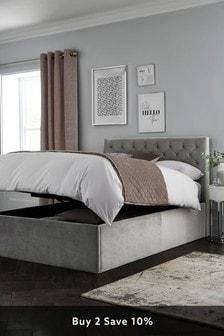 Paris Extra Deep Ottoman Storage Bed