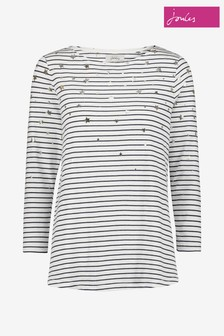 Joules Nelly Print Jersey Top