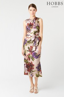 Hobbs Pink Thao Floral Dress