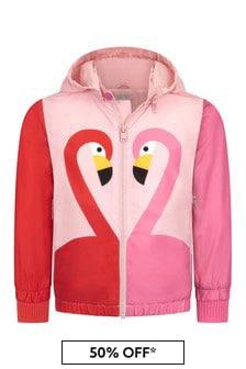 Stella McCartney Kids Girls Pink Jacket